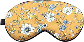 Tchin Eye mask Double Embroidery Fleece Silk Eye mask Silk Shading Sleep Eye Protection air Travel Sleeping Eye