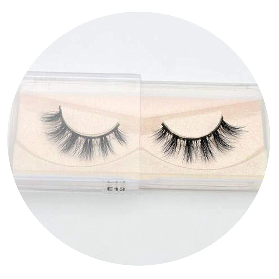 Handmade Eyelashes Cross False Eyelashes Free Cruelty Dramatic 3D Eyelashes Long Lasting Faux Cils For Makeup Tools,E13