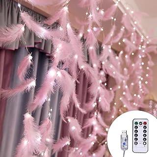 Outgeek Curtain Decor Light Creative Romantic Fairy Light for Room Decoration