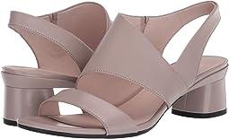 Grey Rose Calf Leather
