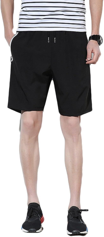 Snfgoij Male Shorts Schnell Trocknend Sporthosen Lose Koreanische Sieben Punkte Laufende Freizeithosen Strandhosen B07BWGLZT2  Angemessene Lieferung und pünktliche Lieferung