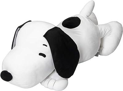 東京 西川 抱き枕 90cm スヌーピー ビッグサイズ もちもち 触感 ホワイト LH60103090W