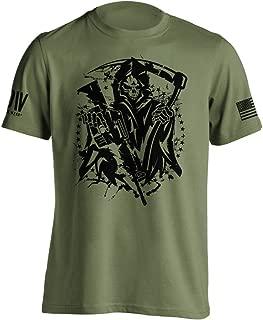 American Grim Reaper Military T-Shirt