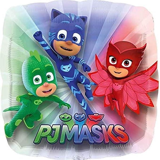 Carpeta Juego de globos de PJ Masks con relleno de helio y ...