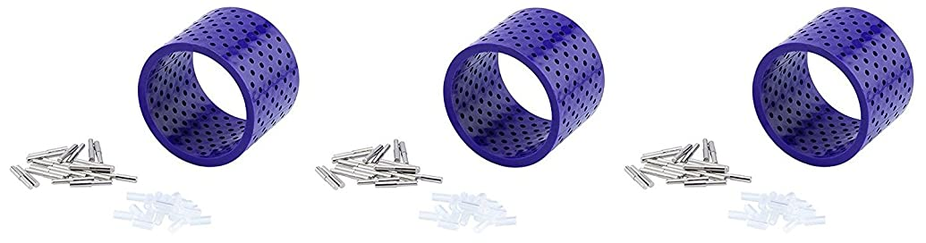 Artistic Wire 3D Bracelet Jig with 20 Pegs, and Holder Tubes (3 Pack)