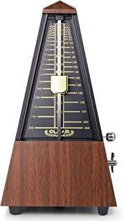 GLEAM Metronome - Mechanical for Musicians with Free Bag (Teak)