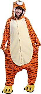 Japsom Unisex-adult Hooded Tiger Halloween Party Fancy Dress Costume