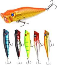 DOITPE Bass Lures Topwater Fishing Lures 3.6