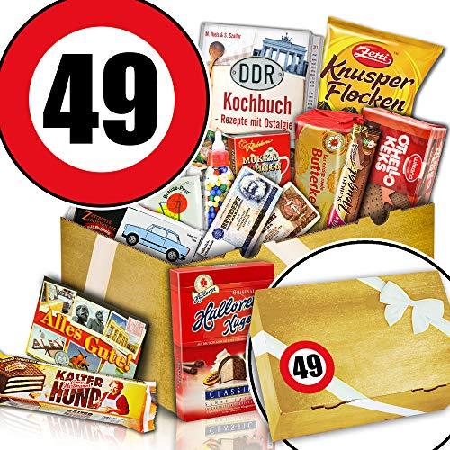 Süßigkeiten Überraschungsbox - 49. Geschenkidee Geburtstag - Geschenk Idee Vater