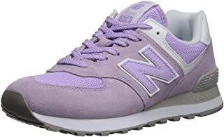 new balance suede and mesh sneakers