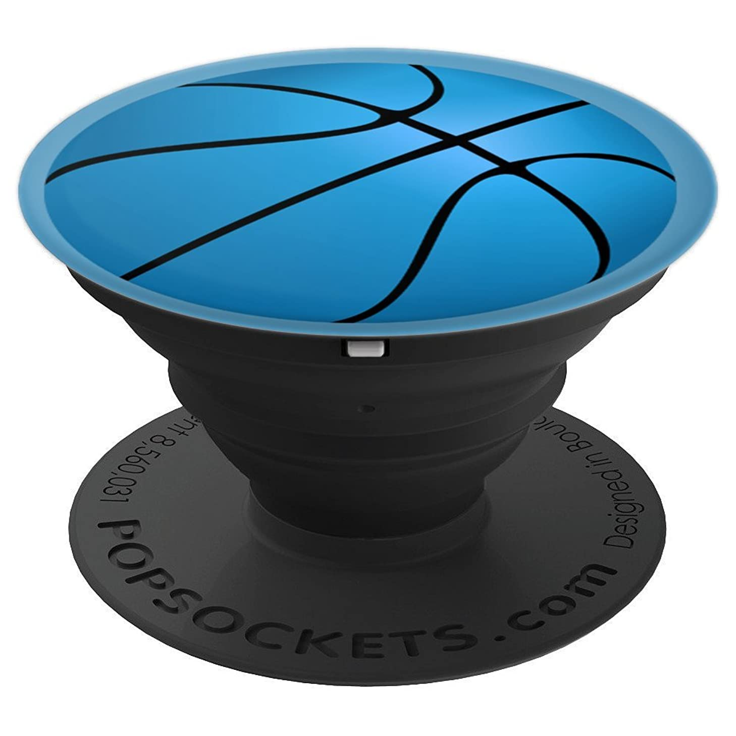 Giant Blue Basketball - PopSockets Grip and Stand for Phones and Tablets