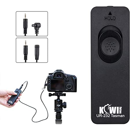 Remote RS-80N3 Shutter Control for Canon EOS 6D Mark II,7D Mark II,1D X EOS R5