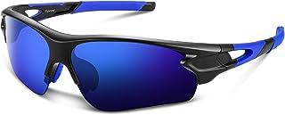 Polarized Sports Sunglasses for Men Women Youth Baseball Fishing Cycling Running Golf Motorcycle...