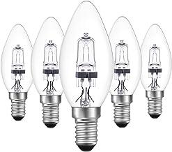 DoRight Halogeenlampen E14 18 W Dimbaar Warm Wit 2700 K C35 Edison Schroef, 5 stuks