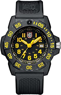 Luminox Navy Seal 3500 Series Black Dial Silicone Strap Men's Watch XS3505L
