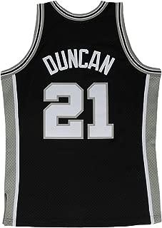 Mitchell and Ness Duncan Black Spurs #21 Swingman Jersey (18208-SASBLCK98TDU)