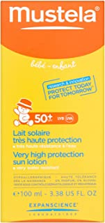 Mustela Very High Protection Sun Lotion for Kids 3.38 oz Lotion