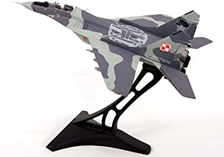 Mig-29 Fulcrum - Polish Air Force - with Display Stand - 1:72 Scale Diecast Model