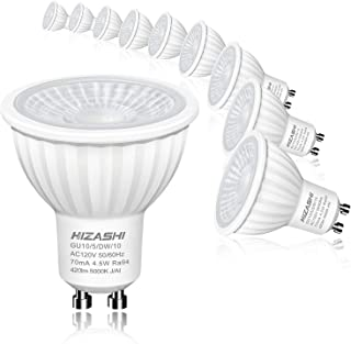 Pack of 4//10 SMD LED 6W GU10 Lamp Bulbs Spotlight Cool Day Warm White 4x 10x