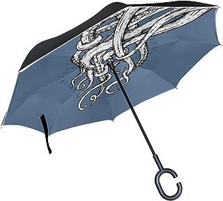 7cc89f6fb412 Amazon.com: octopus umbrella tentacle handle