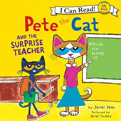 Pete the Cat and the Surprise Teacher cover art