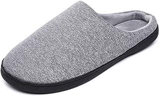 YUDI Fashion Casual Home Simple Non-Slip Men's Cotton Slippers