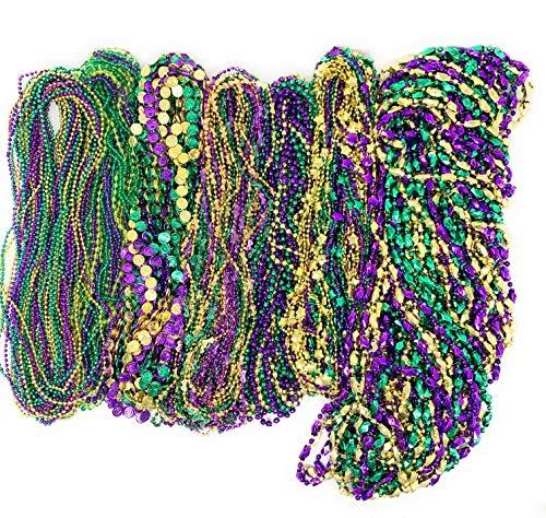 1000 mardi gras beads - 4