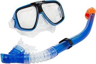 Intex - Tubo y máscara Buceo policarbonato
