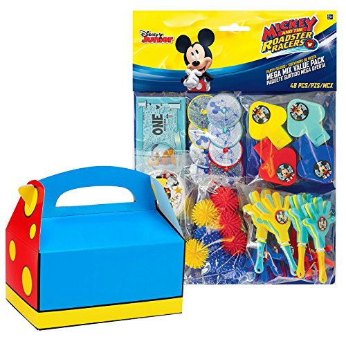 BirthdayExpress Mickey On The Go Party Supplies Favor Box (8)