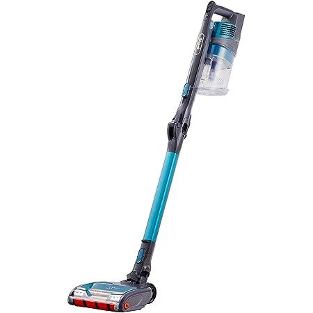 Shark Cordless Stick Vacuum Cleaner [IZ201UKT] Anti Hair Wrap, Pet Hair, Single Battery, Turquoise Blue