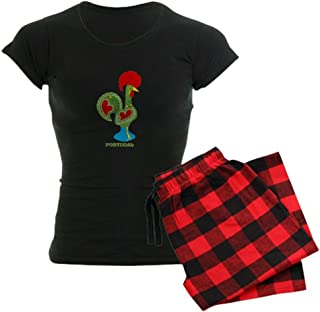 CafePress Traditional Portuguese Rooster Pajamas Women's PJs
