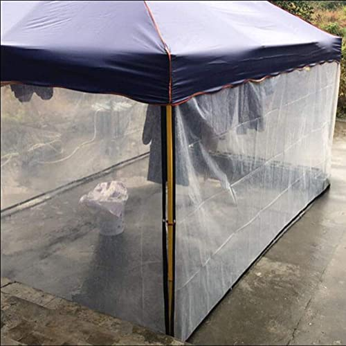 CJC Voiles d'ombrage Bache Couverture étanche Bache Plastique Bache Ultra Léger Auvent De Voiture pour Camping (Couleur   Transparent, Taille   5x6m)
