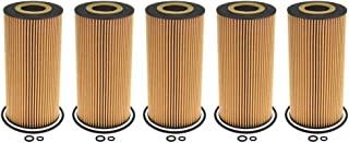 Younar 5pcs Engine Oil Filter HU951X Replacement for 1996 1997 1998 1999 Mercedes-Benz E300 3.0L