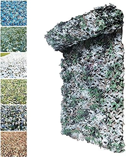 malla sombreadora Tela de sombreado de la red de camuflaje de la red Oxford, resistente al desgarro a prueba de agua y duradero para la protección de la planta de jardín Actividades del partido Decora