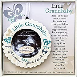 This Ultrasound Ornament Is The Perfect Keepsake For Grandparents To Be Poem So Nicely Written Through Perspective Of Your New Little Baby