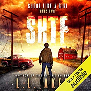 Shoot Like a Girl audiobook cover art