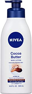 NIVEA Cocoa Butter Body Lotion 16.9 fl. oz. (Pack of 4)