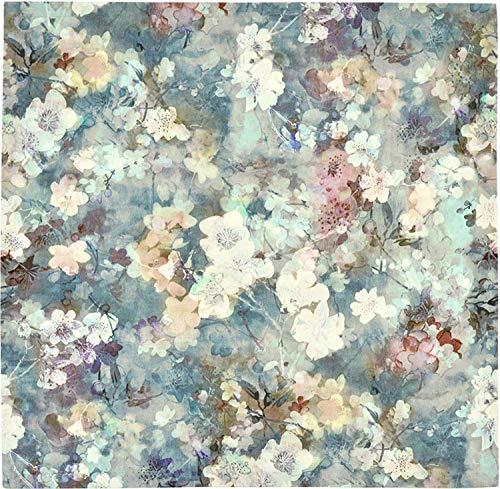 Sander Frühjahr 2019 Mitteldecke Heather, 100x100 cm, Farbe 77- Blue Fox