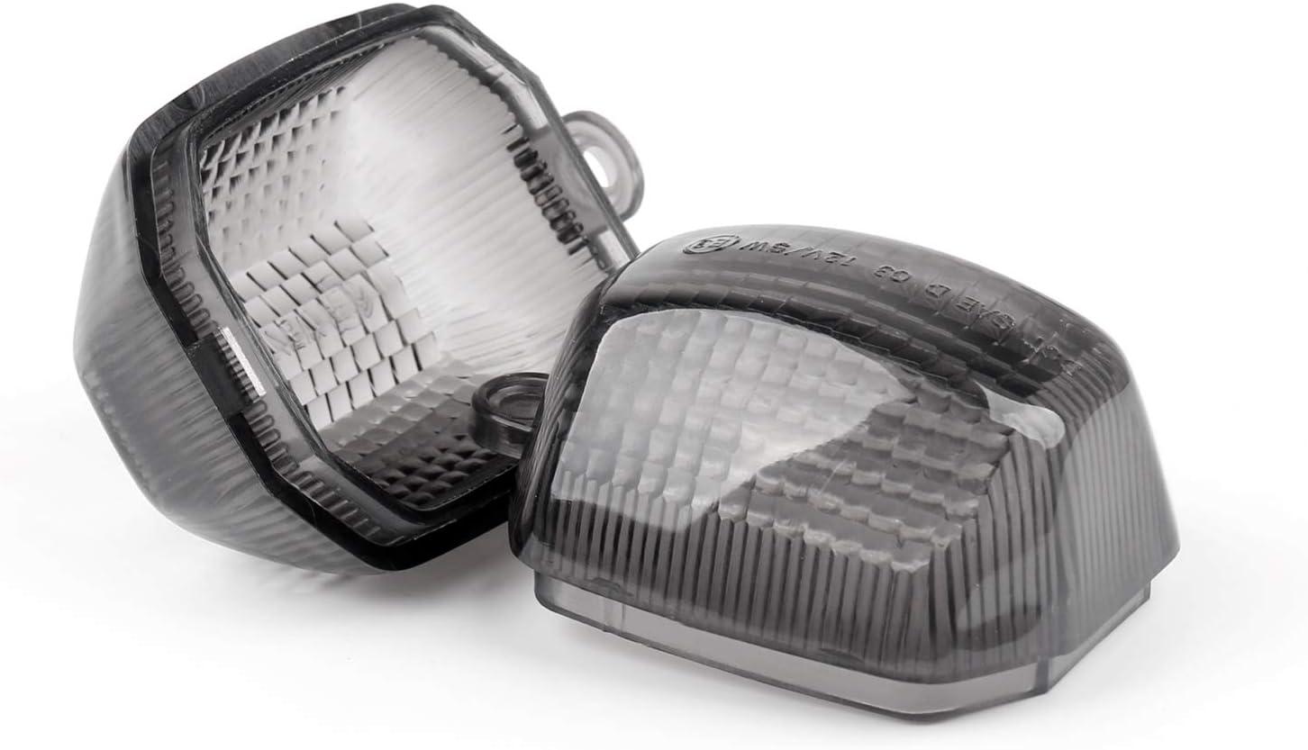 EURO Topteng 2 X Intermitentes lente para Ya-ma-ha R1 98-01 R6 98-02 FZ1 98-04 YZF600R 98-04