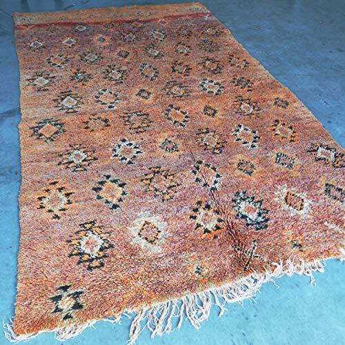 Marokkaanse Beni Mguild Berber tapijt Orient - 100% handgeweven natuurlijk Tribal wol tapijt - diamant vormen - 310 x 170