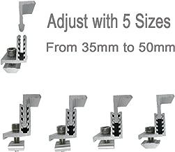 Smarkey Solar Panel Assembly Mounting Z Bracket Kits 4 Units Adjustable