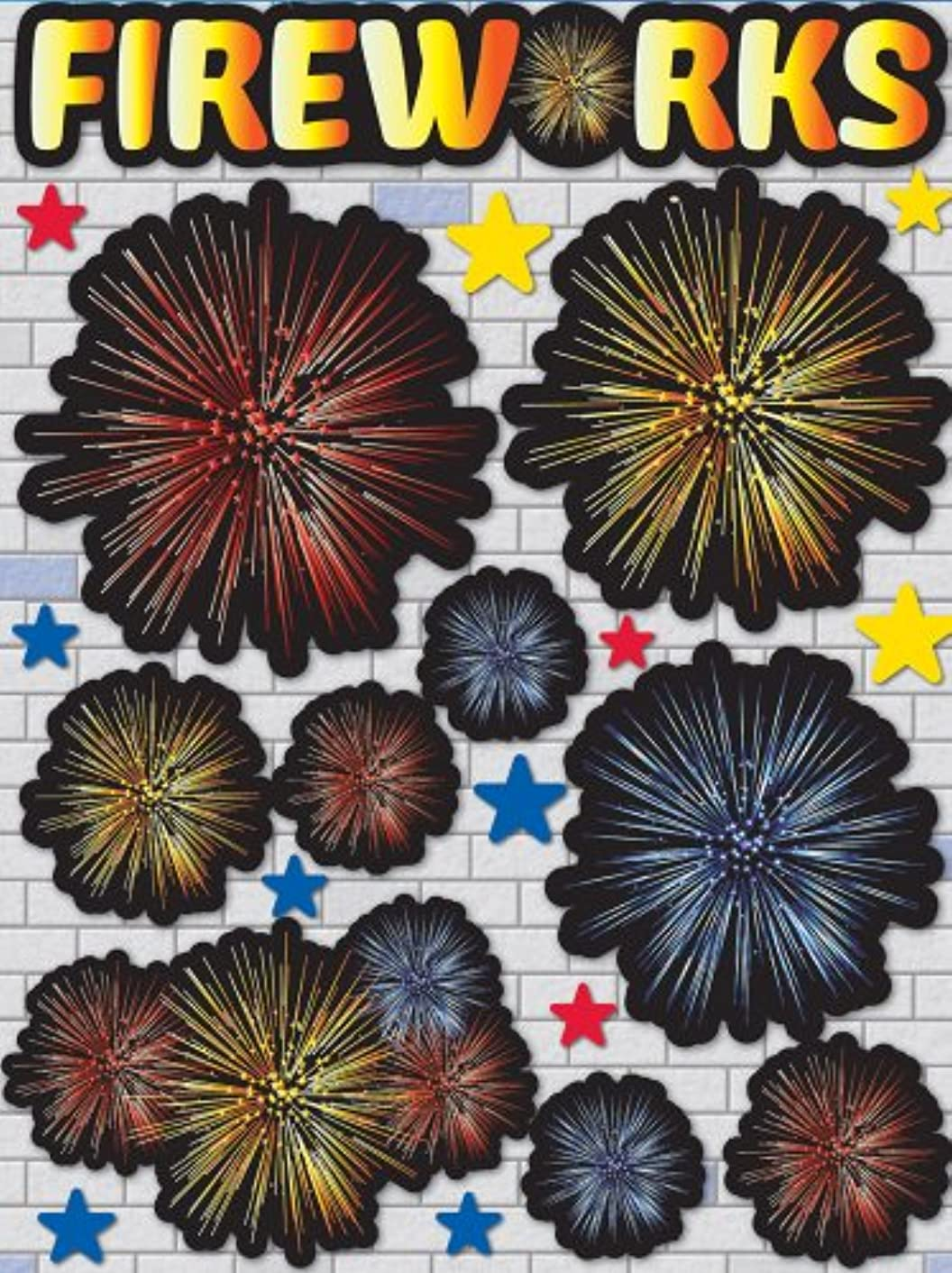 Reminisce Real Magic Fireworks 3-Dimensional Sticker