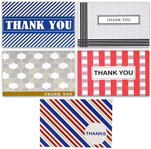 (50 Pack) Thank You Cards With Envelopes- Notecards...