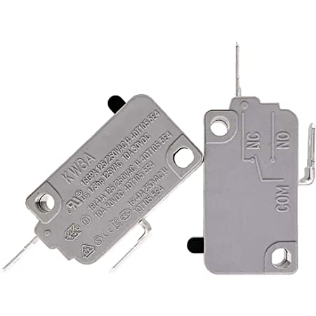 Cafopgrill 5E4 Times Door Switch KW3AT-16 Microwave Door Switch Microwave Oven Door Micro Switch Normally Close Switch Micro Door Relay Switch