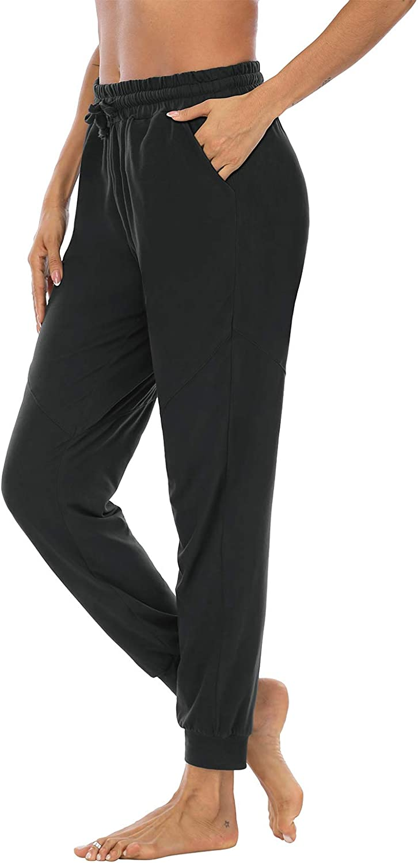 DIBAOLONG Womens Yoga Sweatpants Workout Joggers Pants Comfy Loose Drawstring Lounge Pajama Pants with Pockets