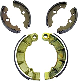 Factory Spec, Front & Rear Brake Shoes compatible with Honda Rubicon 500 4x4 TRX500FA 2001 2002 2003 2004