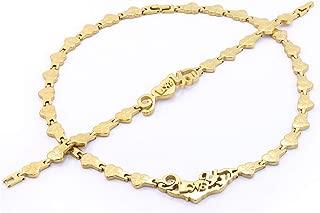 Best 14k gold i love you bracelet Reviews