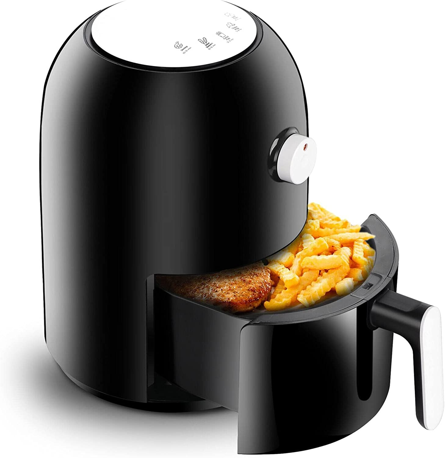 770W Compact Mini Oil-less Air Large special price 2.1qt Appli Tucson Mall Fryer Kitchen Healthy