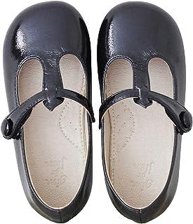 Bailarina Mary Jane para Pequeñas Princesas Plana t Bar Oxford Zapatos