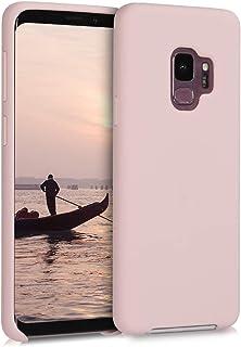 kwmobile Hülle kompatibel mit Samsung Galaxy S9   Handyhülle gummiert   Handy Case in Hellrosa matt